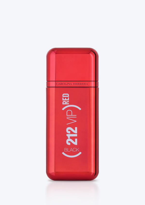 CAROLINA HERRERA 212 VIP Men Black L.E Red Edp