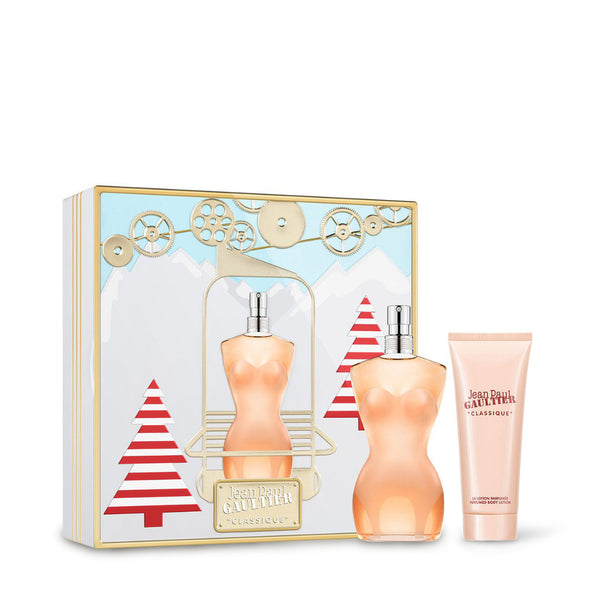 JEAN PAUL GAULTIER <br> CLASSIQUE EDT 100ML - XMAS LIMITED EDITION 2019 <br>(Perfume & Body Lotion for her)