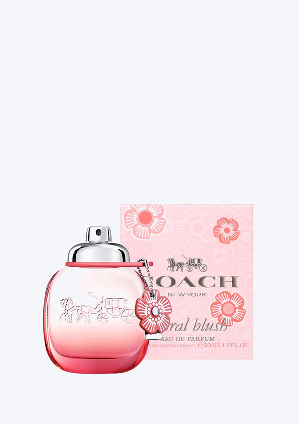 COACH NEW YORK <br> FLORAL BLUSH <br> EAU DE PARFUM 50ML (New 2019)