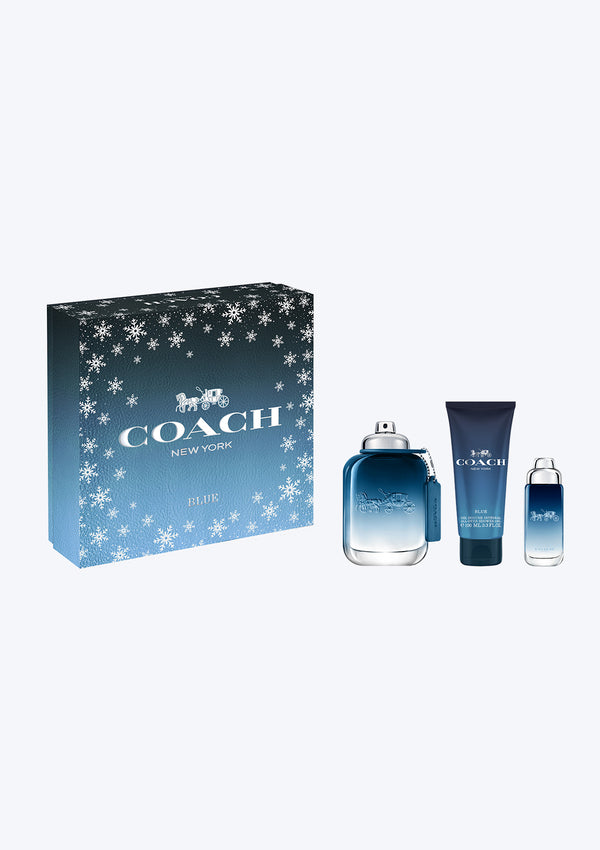 Gift Set Coach Men Blue EDT
