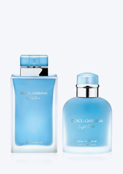 Dolce&Gabbana Combo Light Blue Intense EDP + Light Blue Pour Homme Intense EDP