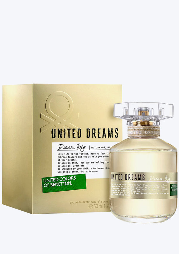 United Colors Of Benetton Dream Big EDT For Her (New Arrival 2020)