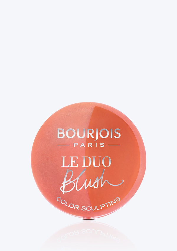 BOURJOIS <br>LITTLE ROUND POT DUO BLUSHER
