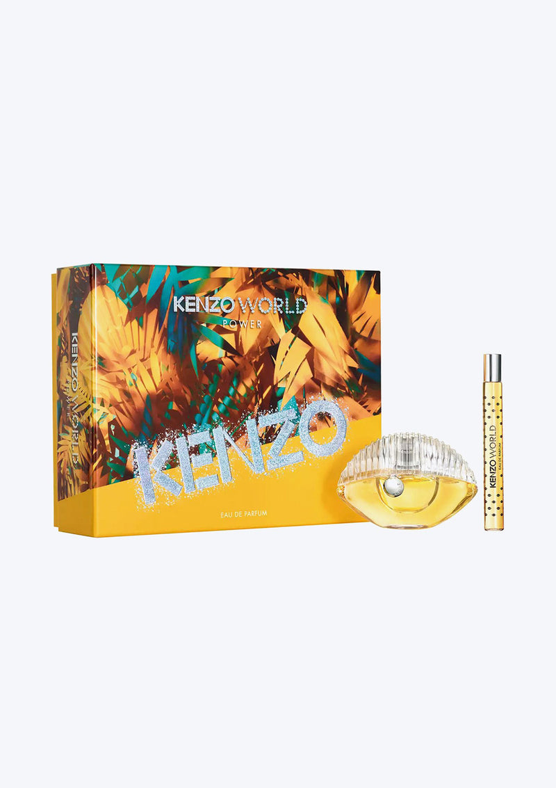 Gift Set Kenzo World Power EDP