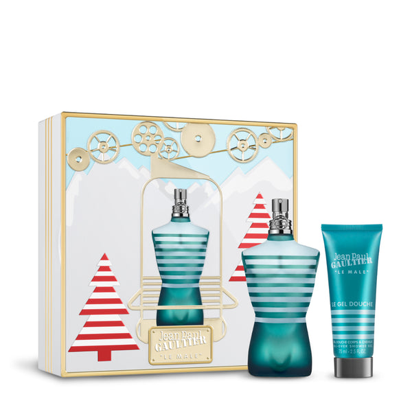 JEAN PAUL GAULTIER <br>LE MALE GIFT SET [EDT] - XMAS LIMITED EDITION 2019<br>(The fragrance & Shower gel for him)