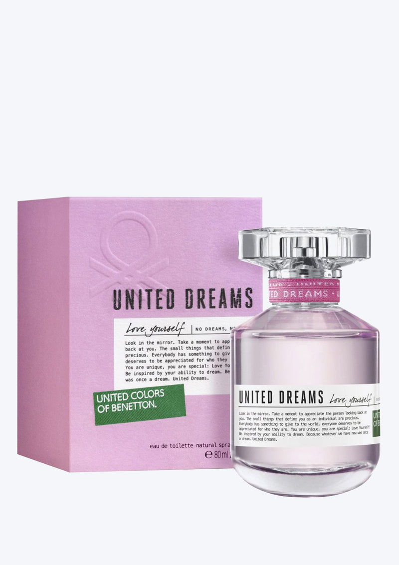 United Colors Of Benetton Love Yourself EDT For Her (New Arrival 2020)