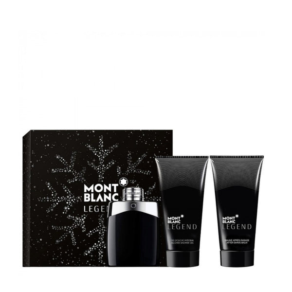 MONTBLANC <br> LEGEND EDT GIFT SET 2019<br> (Perfume, After shave, shower gel for men)