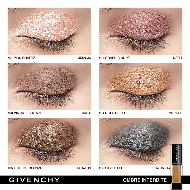 GIVENCHY <br>OMBRE INTERDITE CREAM EYESHADOW