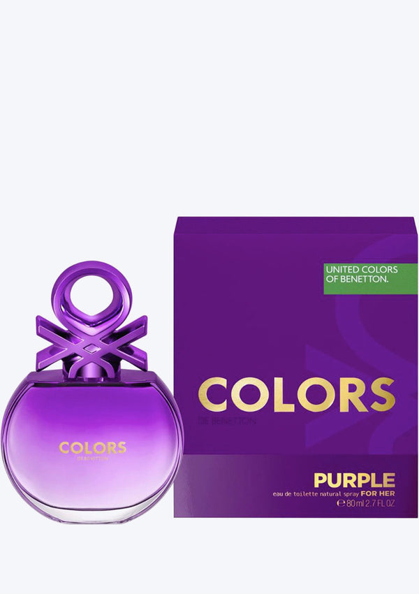 United Colors Of Benetton Purple EDT For Her (New Arrival 2020)