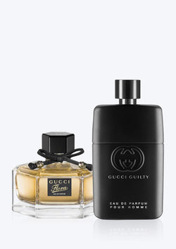 Gucci Combo Flora By Gucci EDP + Guilty Pour Homme EDP