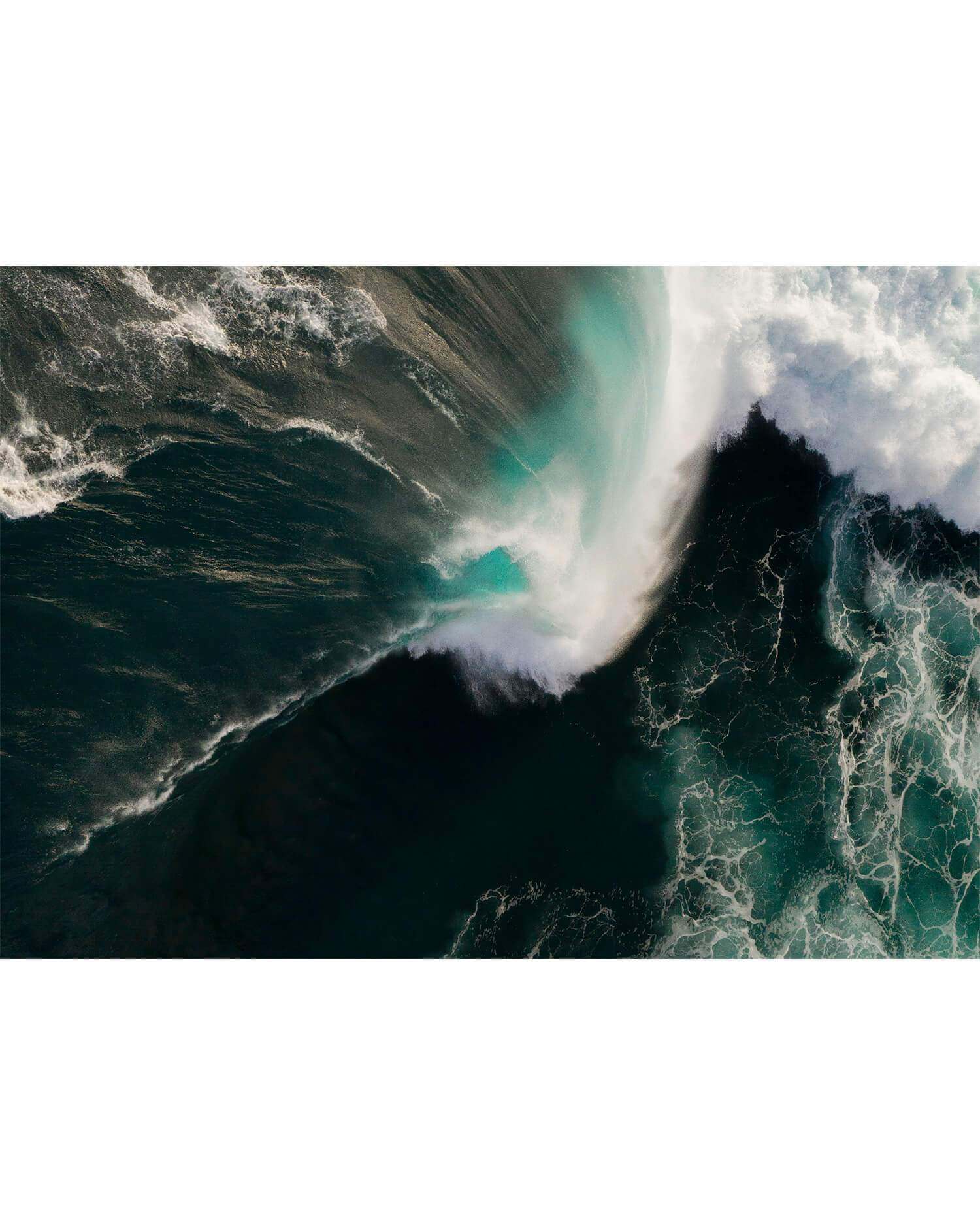 Azure Co Aerial Photography - Wave in South Western Australia