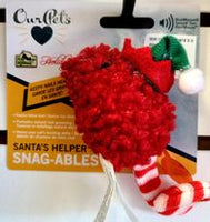 Santa's Helper Cat Toy