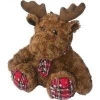 Reindeer Plush Dog Toy