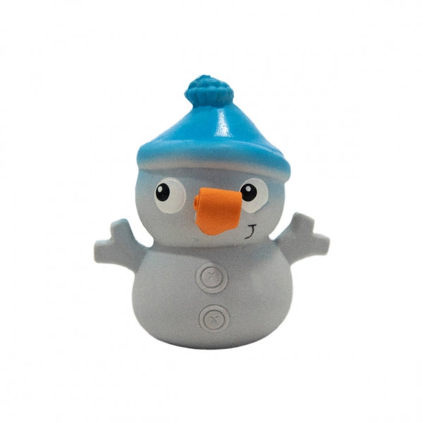 Squish Em's Small Snowman Dog Toy