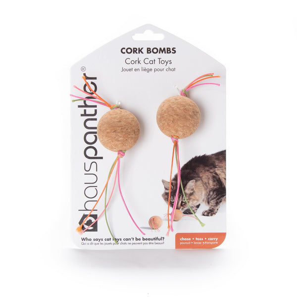 HausPanther Cat Toy Cork Bombs