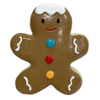 Latex Gingerbread Small Dog Toy