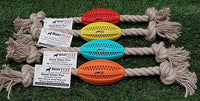 Boxer Tuff Dog Toy Rope with Football