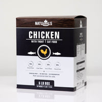 NatuRAWls Chicken & Trout Cat Raw Frozen Dinner