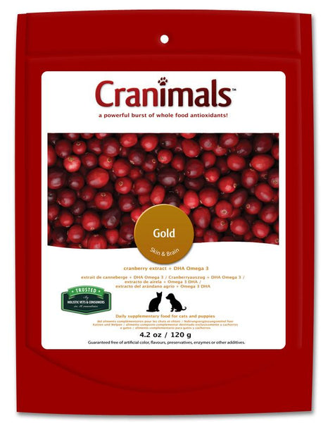 Cranimals Gold Cranberry Supplement