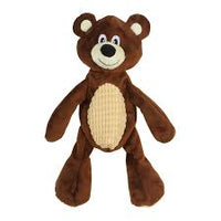 Crinkle Teddy Dog Toy