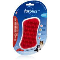 FURBLISS - RED BRUSH FOR LARGE PETS WITH LONG HAIR