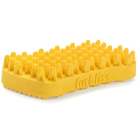 FURBLISS - YELLOW BRUSH FOR LARGE PETS WITH SHORT HAIR