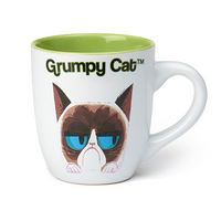 Grumpy Cat White Mug 24oz