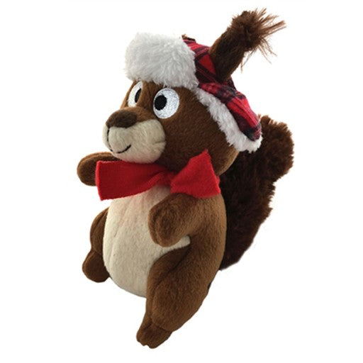 Chester Squirrel Holiday Large Dog Toy