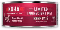 Koha Beef Limited Ingredient Canned