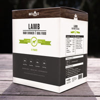 Lamb Raw Frozen Dinner for Dogs