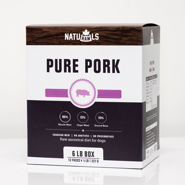 Raw Frozen Dinner Pure Pork 6lb
