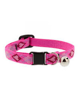 Lupine Cat Collar Pink Hearts