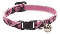 Lupine Cat Collar Breakaway Pink Paws
