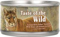 Taste of the Wild Canyon River Canned 5oz