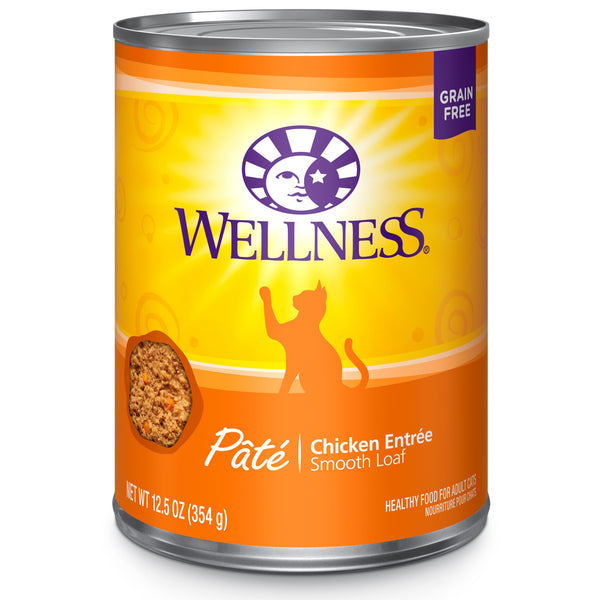 Wellness Pate Chicken 12oz Canned
