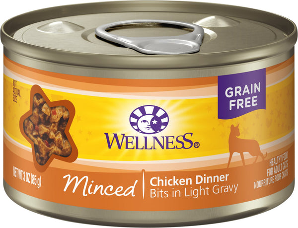 Wellness Minced Chicken 5oz Canned