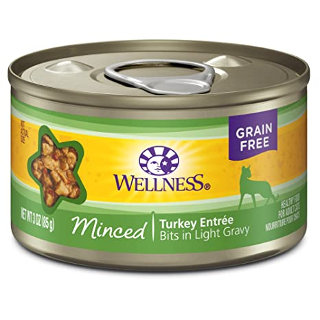 Wellness Minced Turkey 5oz Canned