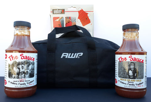 The Sauce (2), Apron & Large Bag