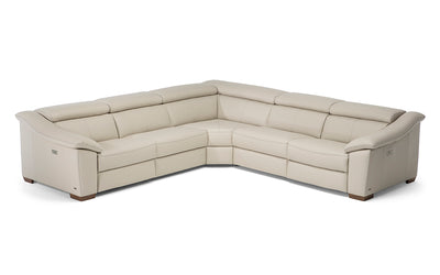 Emozione Sectional-Natuzzi Editions-Leather Express San Marcos