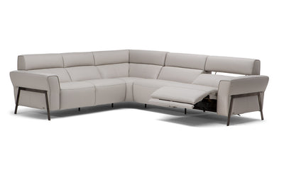 Eleganza Sectional-Natuzzi Editions-Leather Express San Marcos