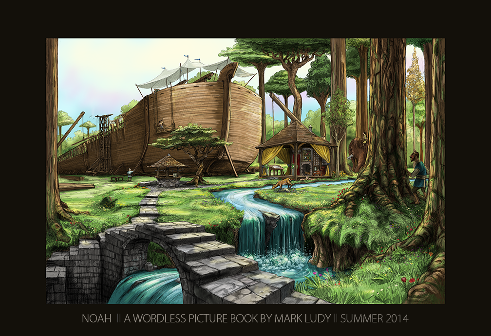 NOAH; The Wordless Picture Book