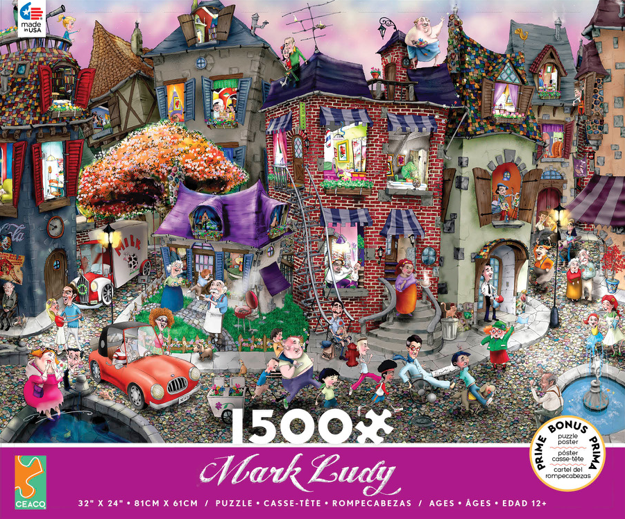 1,500 Piece Puzzle / Night Celebration / Ceaco Version
