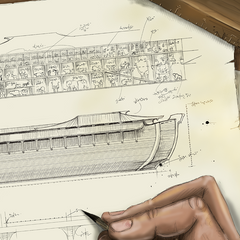 Early Sketch of the Ark