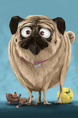 Portrait of Pug