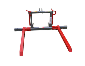 Adjustable Round Bale Feed Out Fork