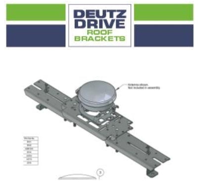 Deutz Drive Roof Brackets