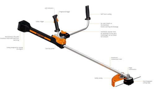 Excellion 2000 Brushcutter