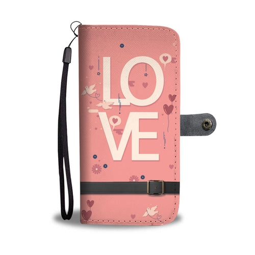 Husband And Wife Wallet Phone Case w/ RFID Blocker