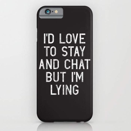 Chat Mobile Cover