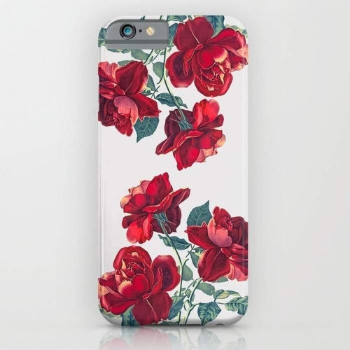 Red Roses Mobile Cover